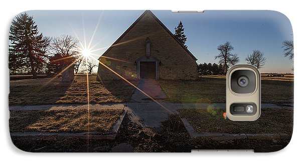 Galaxy Case featuring the photograph Oldham, Sd by Aaron J Groen