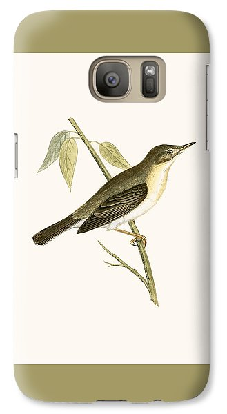 Olivaceous Warbler Galaxy S7 Case by English School