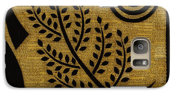 Galaxy Case featuring the mixed media Olive Branch by Gloria Rothrock