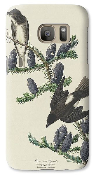 Flycatcher Galaxy S7 Case - Olive-sided Flycatcher by Dreyer Wildlife Print Collections