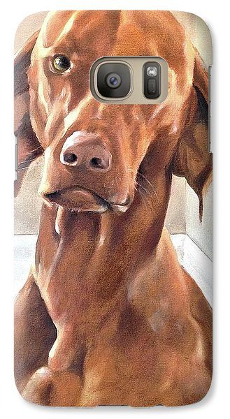 Galaxy Case featuring the painting Oliver by Diane Daigle