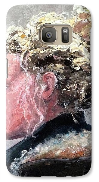 Galaxy Case featuring the painting Olivia 2 by Diane Daigle