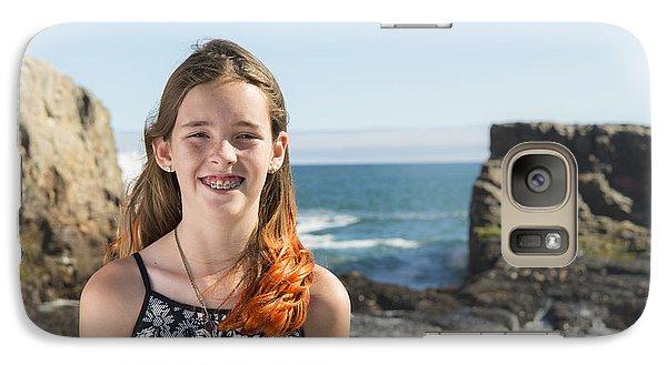 Olivia Galaxy S7 Case by Alex Lapidus