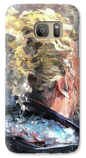 Galaxy Case featuring the painting Olivia by Diane Daigle