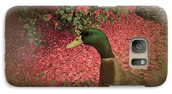 Galaxy Case featuring the painting O'malley by YoMamaBird Rhonda