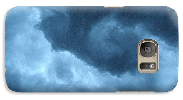 Galaxy Case featuring the photograph Ominous  by Angie Rea