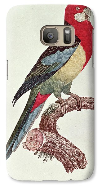 Omnicolored Parakeet Galaxy S7 Case by Jacques Barraband