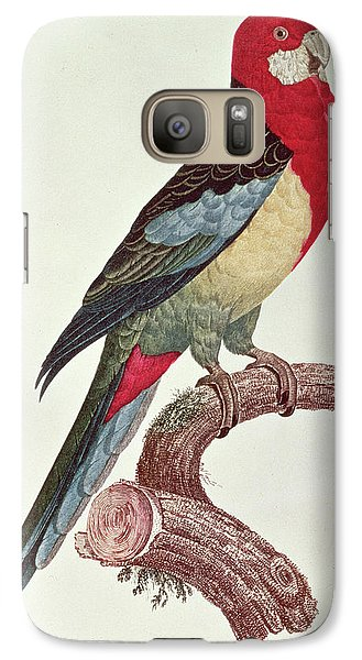 Omnicolored Parakeet Galaxy Case by Jacques Barraband