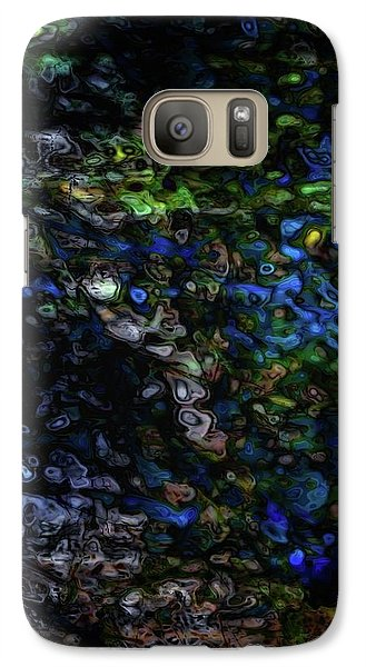 Galaxy Case featuring the digital art On A Cold Winter Night by Mimulux patricia no No
