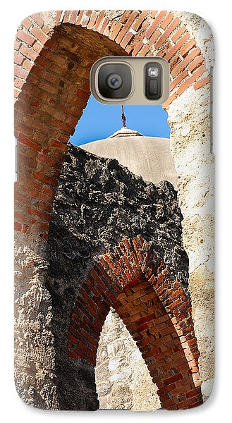 Galaxy Case featuring the photograph On A Mission by Debbie Karnes