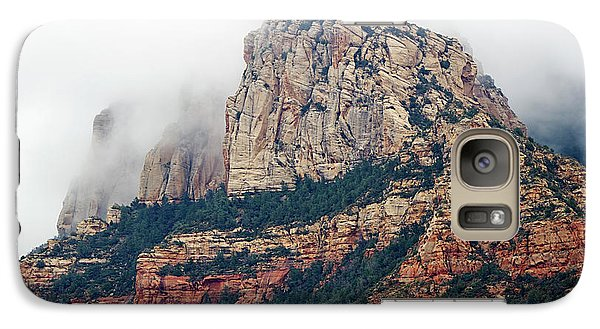 Galaxy Case featuring the photograph On A Misty Day by Phyllis Denton