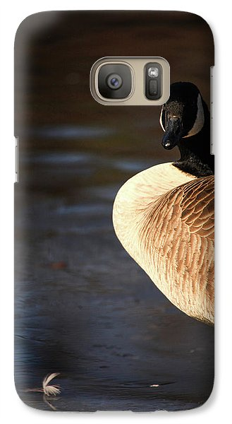 Galaxy Case featuring the photograph On Ice by Karol Livote