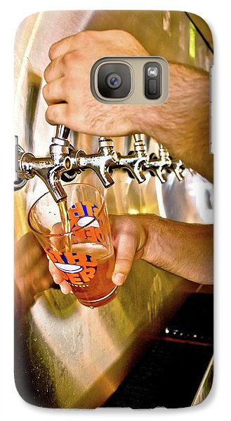 Galaxy Case featuring the photograph On Tap by Linda Unger