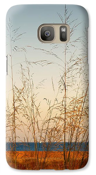 Galaxy Case featuring the photograph On The Beach by Milena Ilieva