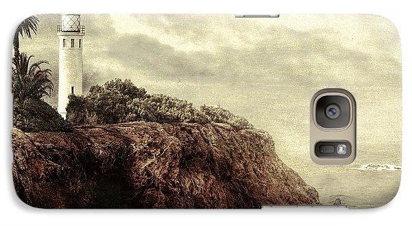 Galaxy Case featuring the photograph On The Edge by Douglas MooreZart