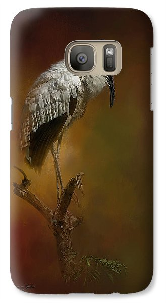 Stork Galaxy S7 Case - On The Fork by Marvin Spates