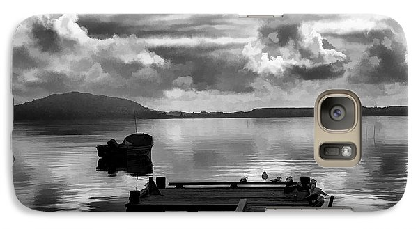 Galaxy Case featuring the photograph On The Lakes by Rick Bragan