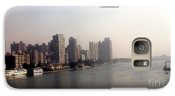 Galaxy Case featuring the photograph On The Nile River by Jason Sentuf