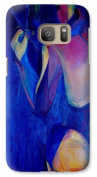 Galaxy Case featuring the painting On The Path by Daun Soden-Greene