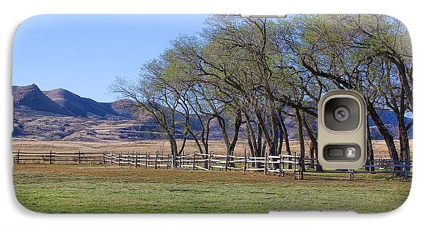 Galaxy Case featuring the photograph On The Ranch by Ely Arsha
