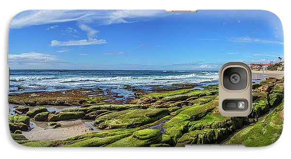 Galaxy Case featuring the photograph On The Rocky Coast by Peter Tellone