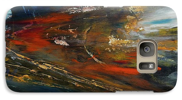 Galaxy Case featuring the digital art On The Way by John Hansen