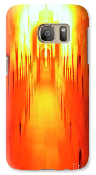 Galaxy Case featuring the photograph On The Way To Death Row by Paul W Faust - Impressions of Light