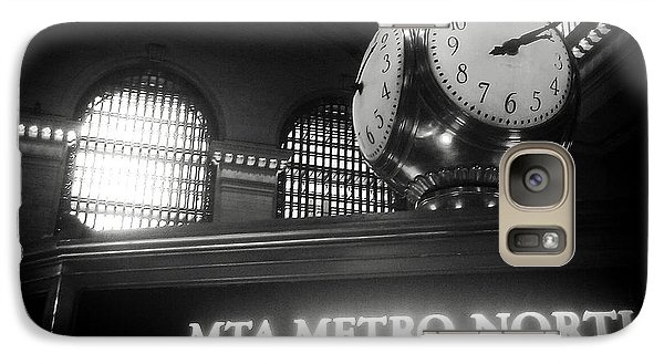Galaxy Case featuring the photograph On Time At Grand Central Station by James Aiken