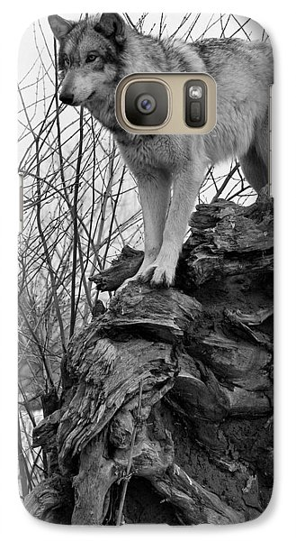 Galaxy Case featuring the photograph On Top by Shari Jardina