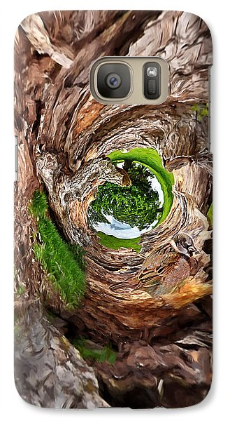 Galaxy Case featuring the photograph Once A Tree by Pennie  McCracken