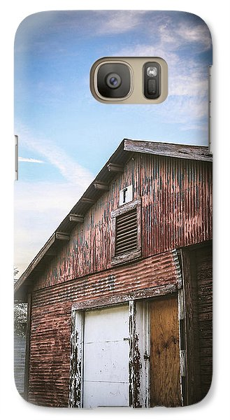Galaxy Case featuring the photograph Once Industrial - Series 1 by Trish Mistric