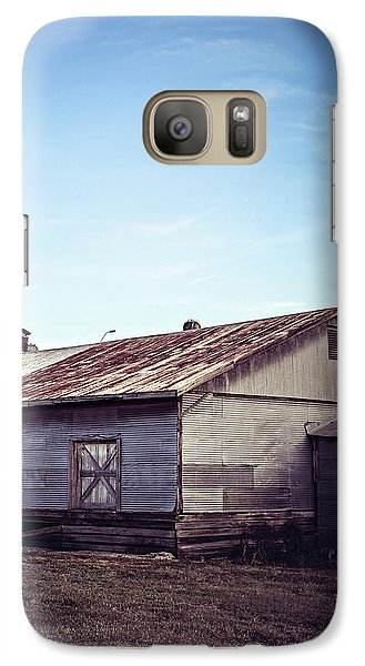 Galaxy Case featuring the photograph Once Industrial - Series 2 by Trish Mistric