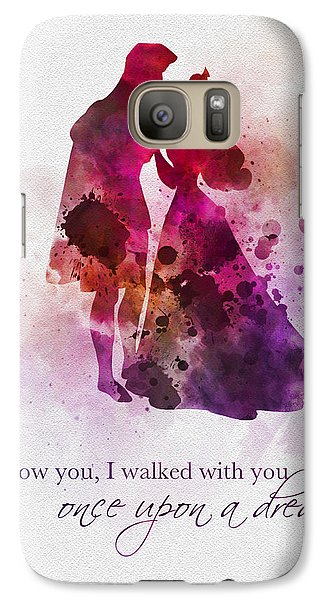 Once Upon A Dream Galaxy S7 Case