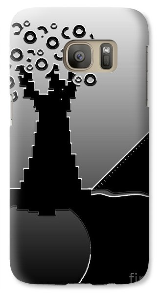 Galaxy Case featuring the digital art Once Upon A Time by Misha Bean