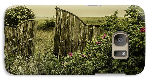 Galaxy Case featuring the photograph Once Was A Garden by Odd Jeppesen