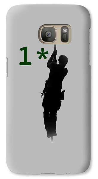 Galaxy Case featuring the photograph One Asterisk by David Morefield