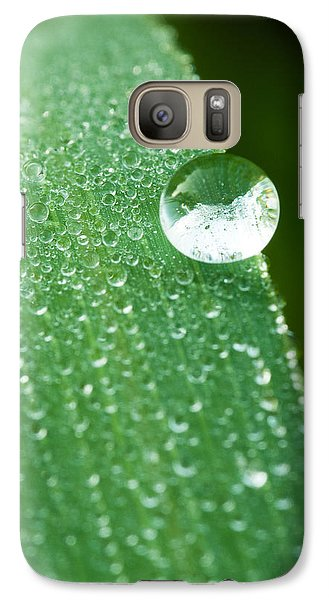 Galaxy Case featuring the photograph One Big Drop by Monte Stevens