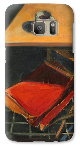 Galaxy Case featuring the painting One Cup by Daun Soden-Greene