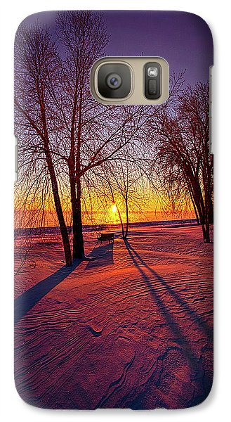 Galaxy Case featuring the photograph One Day Closer by Phil Koch