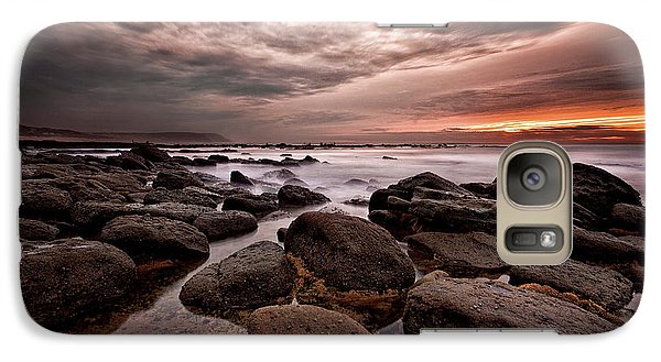 Galaxy Case featuring the photograph One Final Moment by Jorge Maia