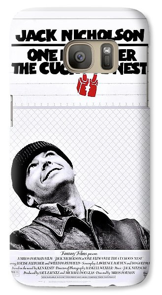 One Flew Over The Cuckoo's Nest Galaxy Case by Movie Poster Prints