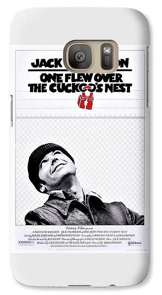 One Flew Over The Cuckoo's Nest Galaxy S7 Case by Movie Poster Prints