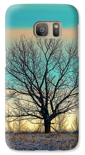 Galaxy Case featuring the photograph One by Nina Stavlund