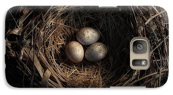 Galaxy Case featuring the photograph One Of The Most Private Things In The World Is An Egg Until It Is Broken Mfk Fisher by Mark Fuller