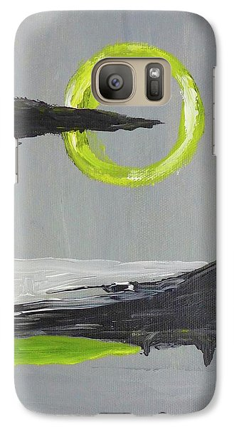 Galaxy Case featuring the painting One Of Those Days by Victoria Lakes