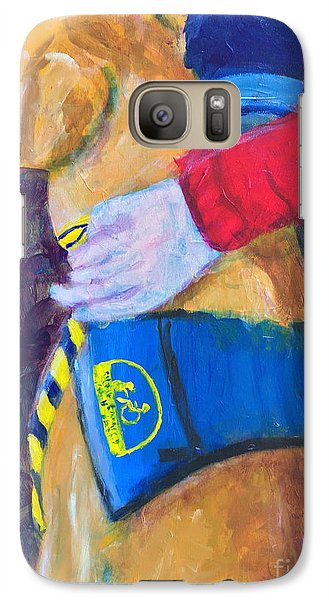 Galaxy Case featuring the painting One Team Two Heroes 3 by Donald J Ryker III