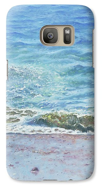 Galaxy Case featuring the painting One Wave by Martin Davey