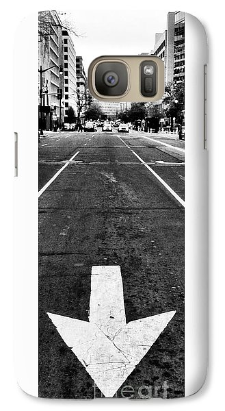 Galaxy Case featuring the photograph One Way by Jim Moore