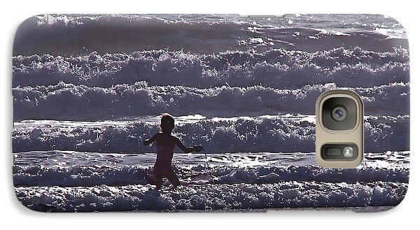 Galaxy Case featuring the photograph One With Nature by Jan Cipolla