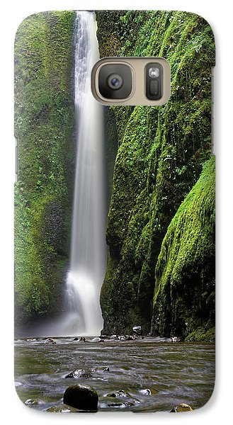 Galaxy Case featuring the photograph Oneonta Portrait by Jonathan Davison